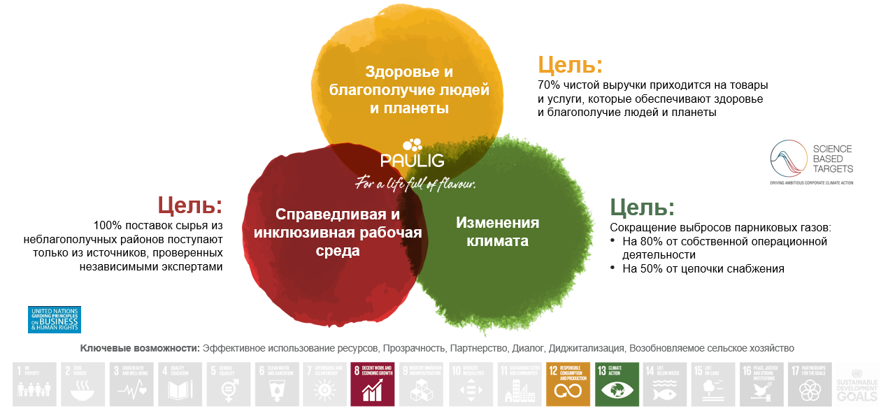 Sustainability ambitions Russian