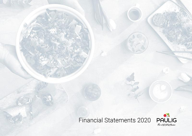 Financial statements 2020
