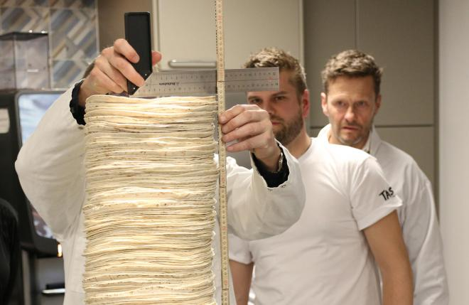 Tortilla stacking