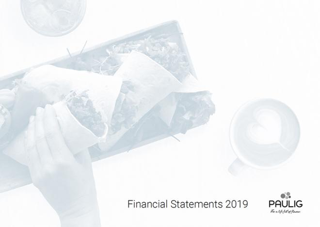 financial statements cover