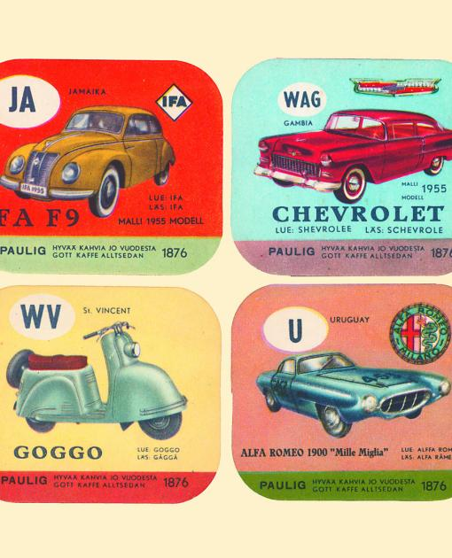 Car cards, Paulig Group